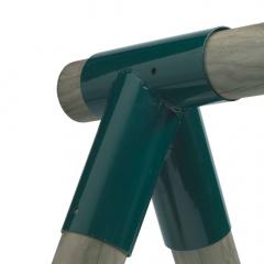 Schaukelverbinder rund 100/100 mm